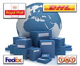 Delivery, DHL, Fedex, TNT, Royal Mail